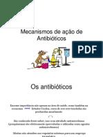 Mecanismos de ação de Antibióticos