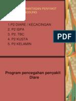 Program pencegahan penyakit Diare