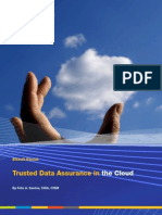 Trusted Data Assurance in the Cloud