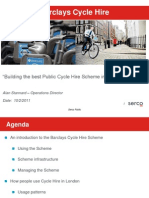 2011 Stannard (Presentation) - Building the Best Public Cycle Hire Scheme in the World