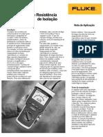 Medidas de Resistência de Cabos de Motores e Isolamentos.