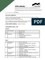 Planejamento Geometria Dinâmica - 2007