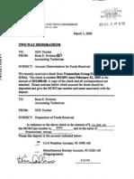 FEC Payment Receipt