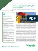 Sistema de Videovigilancia tiendas OXXO