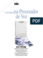 Panasonic KX-TVP200 Folleto