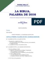 Grelot, Pierre - La Biblia, Palabra de Dios