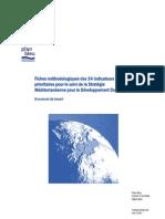 IDD _méditerrannée _stratégie de développement durable & indicateurs _rapport de définition _plan bleu2006
