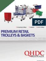 QHDC Premium Retail Trolleys Baskets Spares