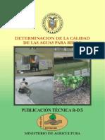 Rd-5-Determ_cal_de Las Aguas Para Riego
