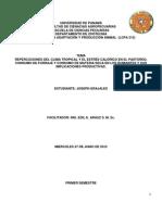 REPERCUCIONES DEL CLIMA TROPICAL Y EL ESTRÉS CALORICO EN EL PASTOREO, CONSUMO DE FORRAJE Y CONSUMO DE MATERIA SECA EN LOS RUMIANTES Y SUS IMPLICACIONES PRODUCTIVAS.