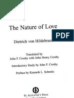 Von Hildebrand - Nature of Love (1 of 5).o