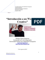 Introducción a un Workshop Creativo. Rodrigo García
