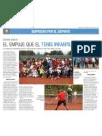 Doosan Boobcat Apoya Tennis 10 en Chile