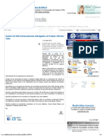 14-08-2012 Grupo Fórmula - Suman mil 200 tractocamiones entregados en Puebla