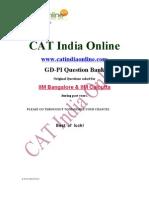 GD-PI IIM Bangalore and Calcutta.doc