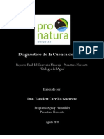 Reporte Final Dialogos Del Agua Pronatura Original