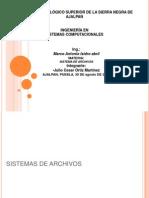 Sistema de Archivos Julio