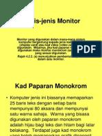 Jenis Jenis Monitor