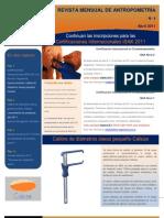 Revista M. de antropometría