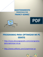 Programas Para Optimizar Mi Pc Francy