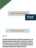 ENGENHARIA DE POÇOS - Fluido completação