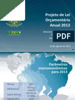 Ploa  2013 - Apresentação em 30 de agosto de 2012