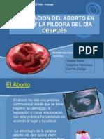Aborto y Pildora Del Dia Despues