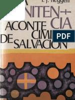 Heggen, f j - La Penitencia Acontecimiento de Salvacion