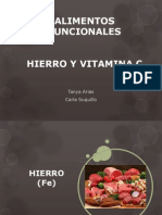 Hierro y Vitamina C
