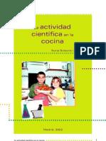 Nuria Salsona Actividad Cientifica en La Cocina