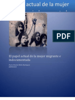 El Papel Actual de La Mujer Migrante e Indocumentada