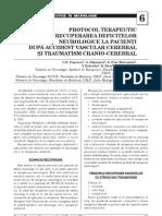 Protocoale Terapeutice in Neurologie (Post AVC Si Traumatism Cranio-cerebral)