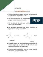 Aldehido y Cetonas