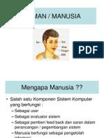 Model Human Processor