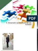 Dimensión sociocultural del Ser Humano