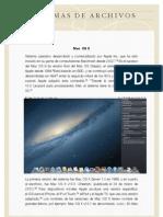 Sistemas de Archivos en Los Sistemas Operativos