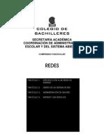 Redes (Libro Completo) para bachillerato abierto SEAD