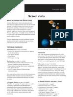 Sydney Observatory Teachers Notes 2012