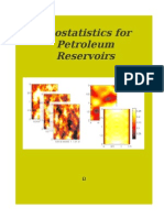 Geostatistics in Petroleum Reservoir