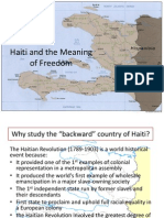 Haiti and the Meaning of Freedom