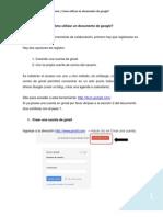 Manual Google Doc