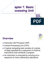 Chapter 7 - Basic Processing Unit