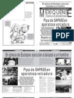 Versión impresa del periódico El mexiquense 31 agosto 2012