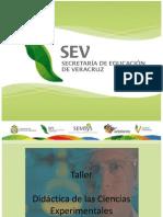 Presentación Taller Didáctica de las Ciencias I