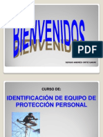 PRESENTACIÓN DEL CURSO EQUIPO DE PROTECCIÓN PERSONAL