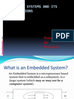 Embedded Systems Applications