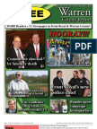 The Early September, 2012 edition of Warren County Report