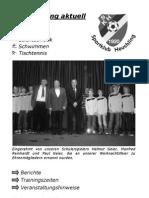 Vereinszeitung Nr. 19 (April 2011)
