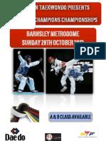 Scorpion TKD Future Champions Championships