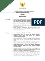 Permenkes 1010-XI-2008 Registrasi Obat